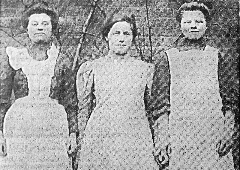 Gütersloher Dienstmädchen 1907
