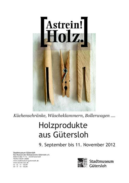 kuchenschranke aus holz : ... Bollerwagen? Holzprodukte aus G?tersloh ? Stadtmuseum G?tersloh