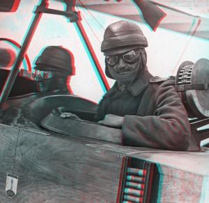 Kampfflieger: Pilot und Bordschütze