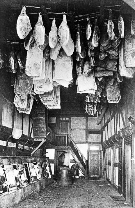 """""""Westfälischer Himmel"""": Tenne um 1920"""