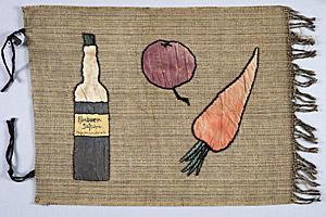 Fahne eines vegetarischen Bundes um 1913